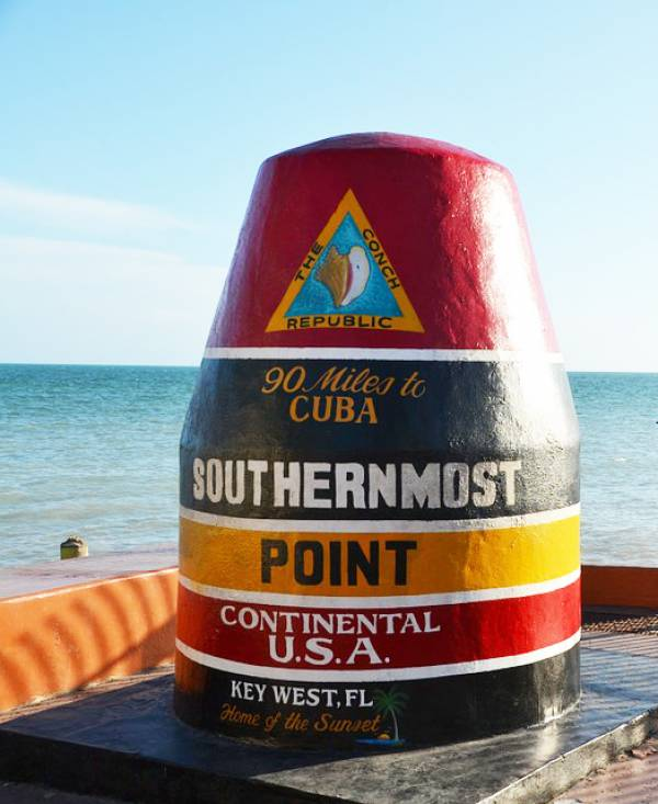 The Buoy at the Southernmost Point